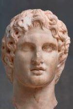 eloquentes Köpfchen: Antikes Bildnis des Alexander