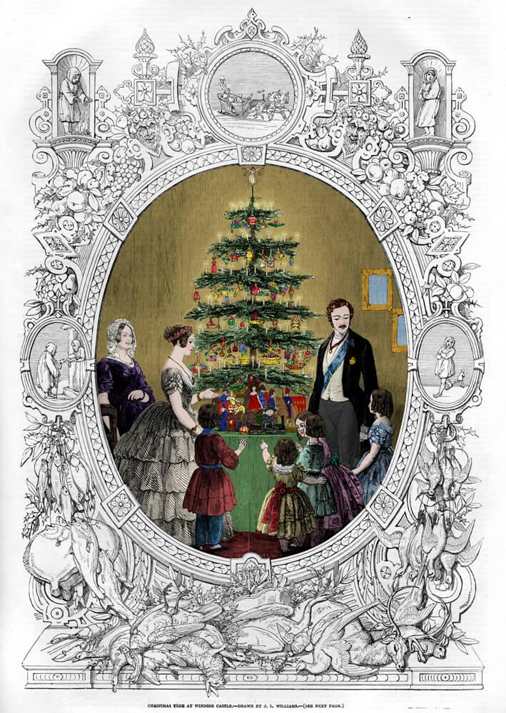Wann Wurde Der Geschmückte Weihnachtsbaum Populär.Oh Tannenbaum Oh Christmas Tree Wie Ein Coburger Prinz Den
