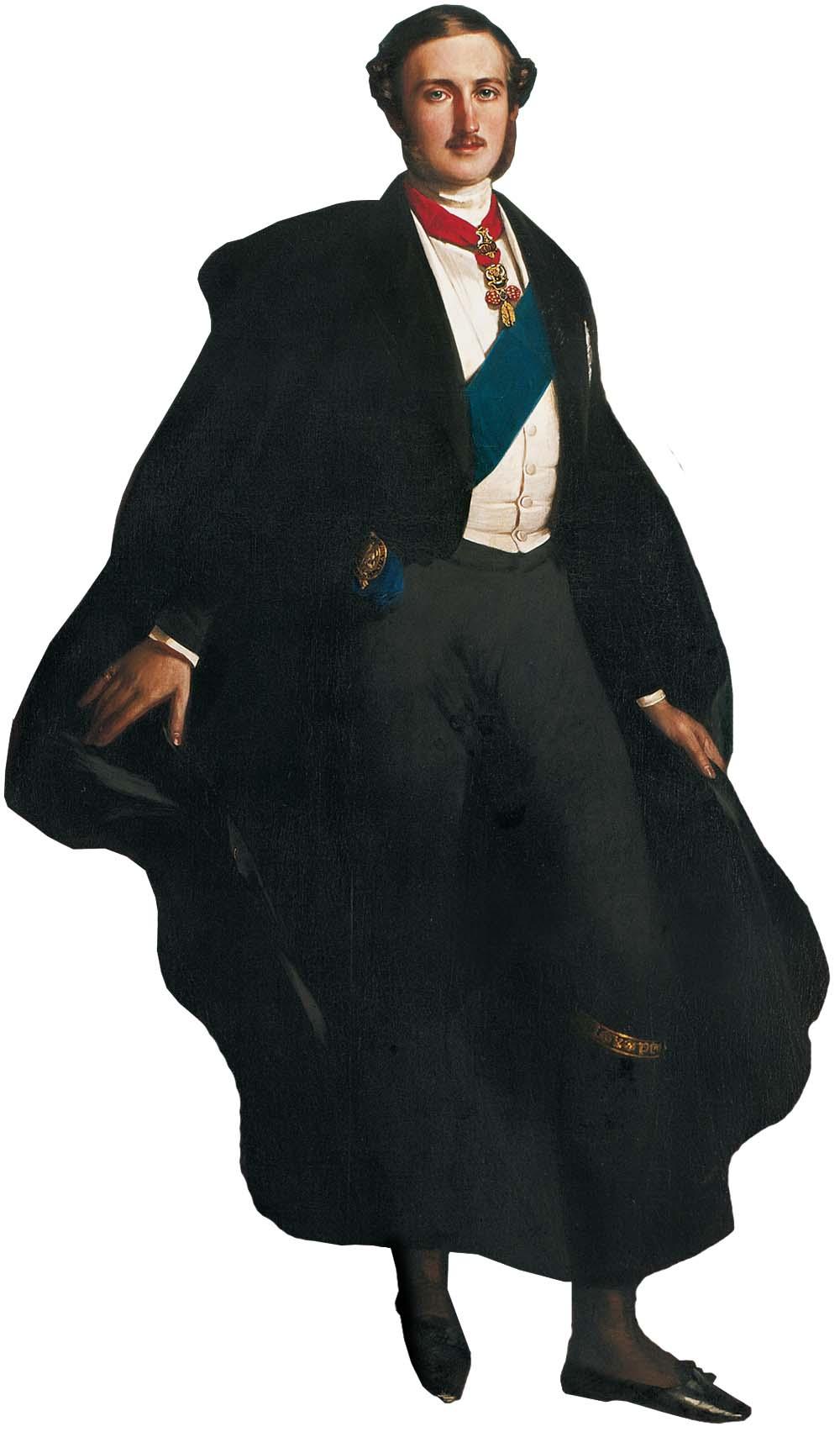 Prinz Albert von Sachsen-Coburg und Gotha - Über sein