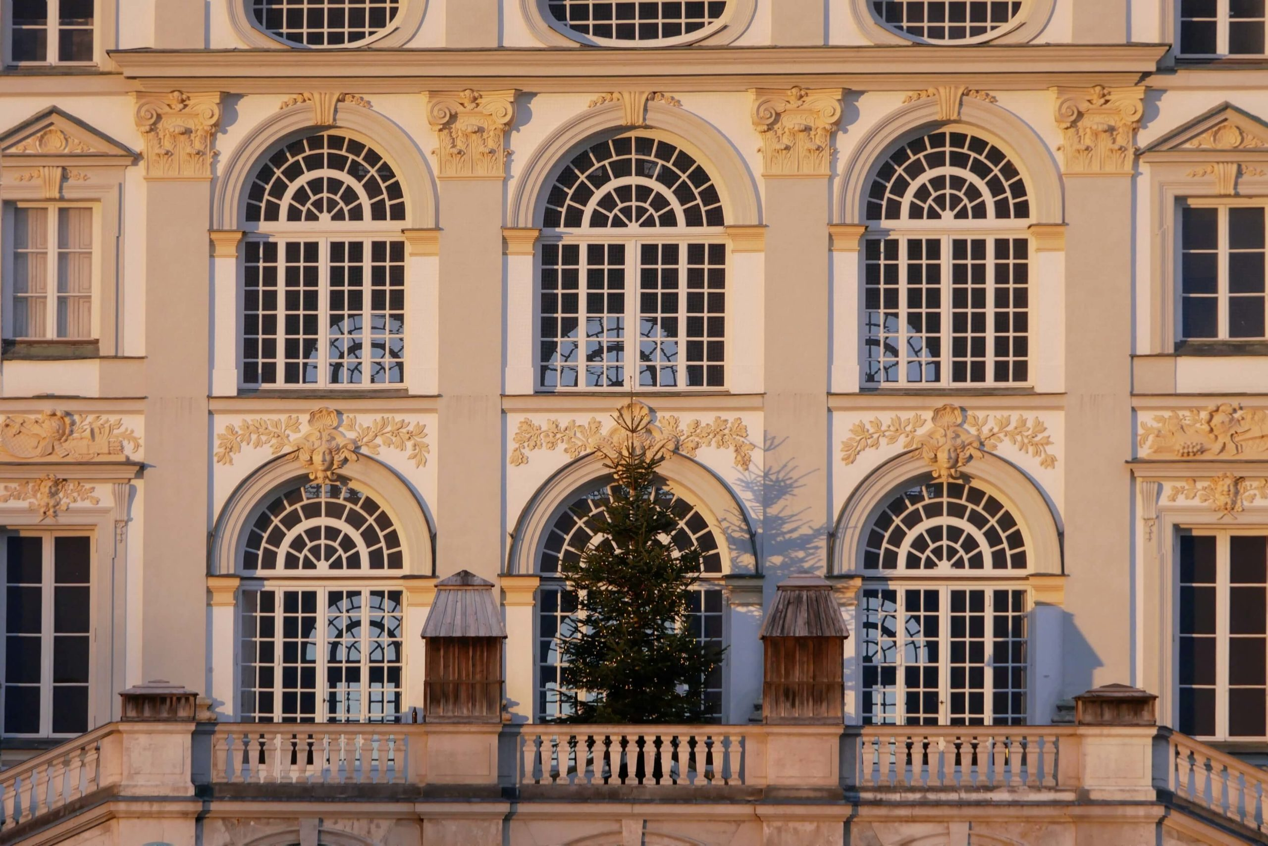 Nymphenburg Schloss Christbaum