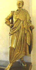 Heute steht der 12. Karl im Foyer des Münchner Herkulessaals - den Säbel hat er im Depot gelassen...
